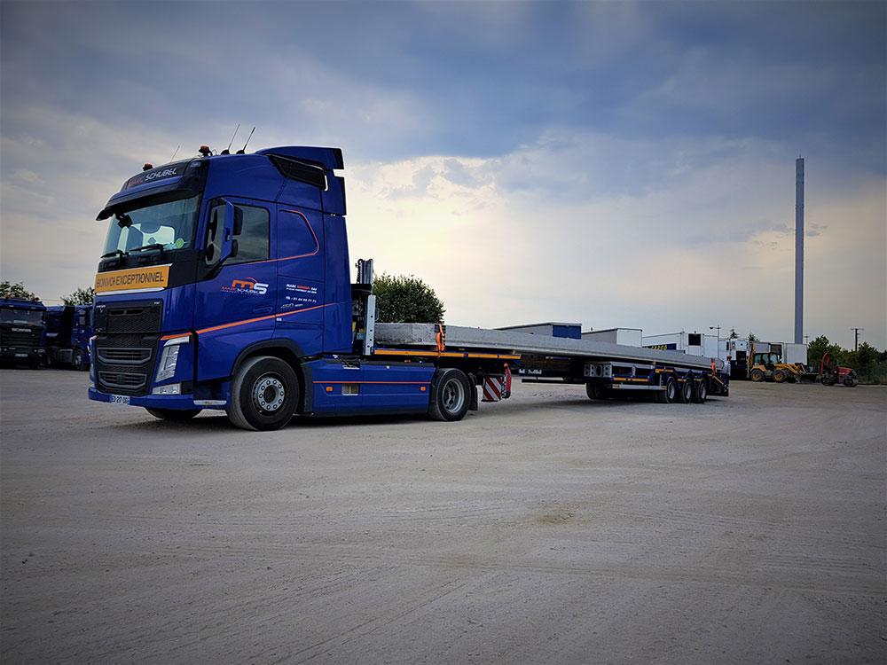 Camion porteur – Convoi exceptionnel catégorie 1, 2 et 3