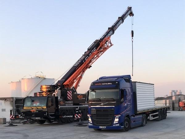 Levage et Transport par camion plateau Paris IDF 91